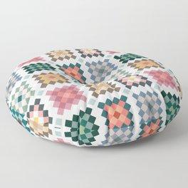 Quilt  Floor Pillow