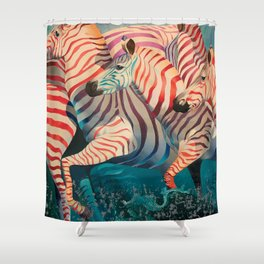 Best Wishes Shower Curtain