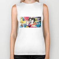 casablanca Biker Tanks featuring Casablanca by Paky Gagliano