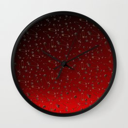 Safe with me ombre Wall Clock