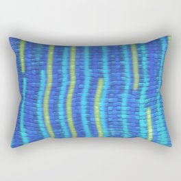 Summer by the Pool Rectangular Pillow