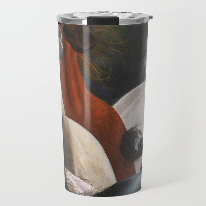 Four Horses Travel Mug