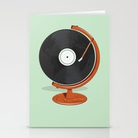record Stationery Cards featuring World Record by Ryder Doty