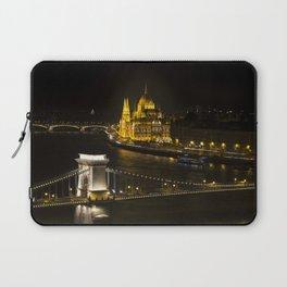 Budapest At Night Laptop Sleeve