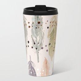 Feather Petals Travel Mug