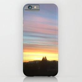 Rainbow Sunrise iPhone Case