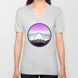 Whiteface mountain Unisex V-Neck
