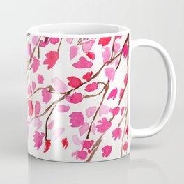 Rain of Cherry Blossom Coffee Mug