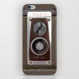 Vintage Duaflex Camera iPhone Skin