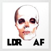 LDR as f*ck (lana) Art Print