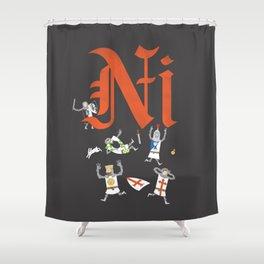 Ni! Shower Curtain