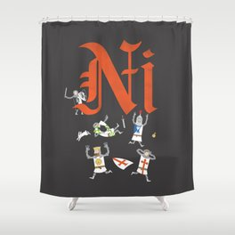 Ni! Shower Curtain