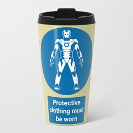 Protective Clothing Must be Worn Travel Mug