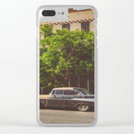 Brooklyn Ride Clear iPhone Case