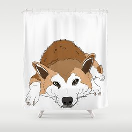 Jax from London Shower Curtain