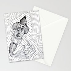 Mouse Fingers Stationery Cards