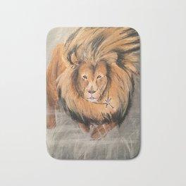 Roaring Like A Lion Bath Mat