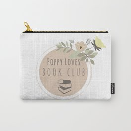 Poppy Loves Book Club Carry-All Pouch