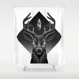 stagnant Shower Curtain