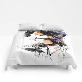 Shibari - Japanese BDSM Art Painting #7 Comforters
