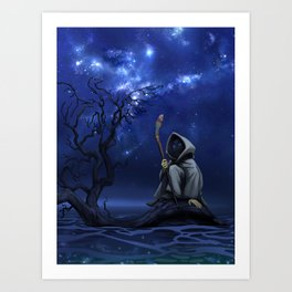 LOOM: Under the Stars Art Print