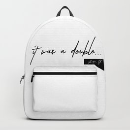 Volleyball Double ATX Backpack