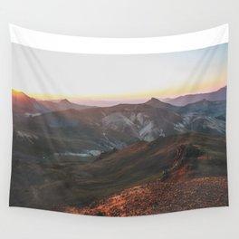 View from Wetterhorn Peak Wall Tapestry