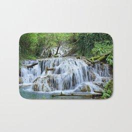 Forest waterfalls Bath Mat