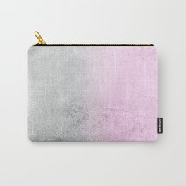 FADING CONCRETE PINK Carry-All Pouch