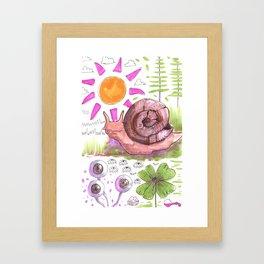 slud Framed Art Print