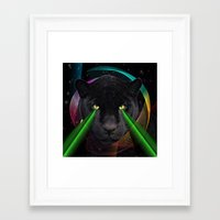 panther Framed Art Prints featuring Panther by mark ashkenazi