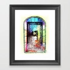 Window, Encinitas, California #2 Framed Art Print