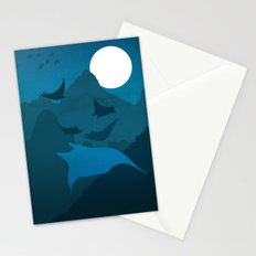 No Memory of the Fliers in the Night Stationery Cards