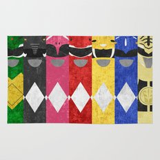 Mighty Morphin Power Rangers Rug