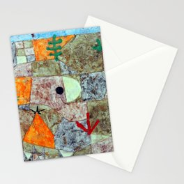 Paul Klee Gardens in the South Stationery Cards