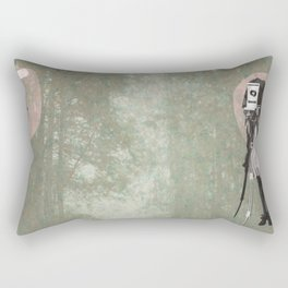 Feminine Collage II Rectangular Pillow