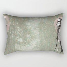 Feminine Collage II Rectangular Pillow