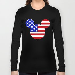 American Mouse Long Sleeve T-shirt