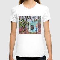 nudes T-shirts featuring Lewiston Biltmore by Kim Leutwyler