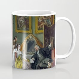 William Hogarth Marriage à-la-mode The Countess's Morning Levee Coffee Mug