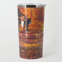 Piano Player with Singer Travel Mug