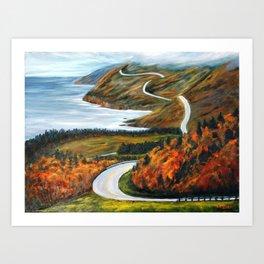 Cape Breton Art Print