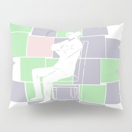 Think there and be square Pillow Sham