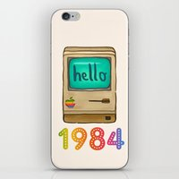 1984 iPhone & iPod Skins featuring 1984 by Laura Wood