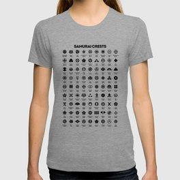 Samurai Crests T-shirt