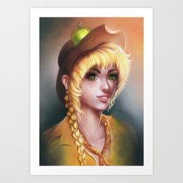 Applejack  Art Print