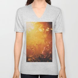 Lombok sunrise Unisex V-Neck
