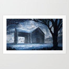 Lonely Winter Art Print