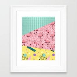 Dreaming 80s #society6 #decor #buyart Framed Art Print