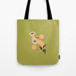 S for Shasta Daisy Tote Bag